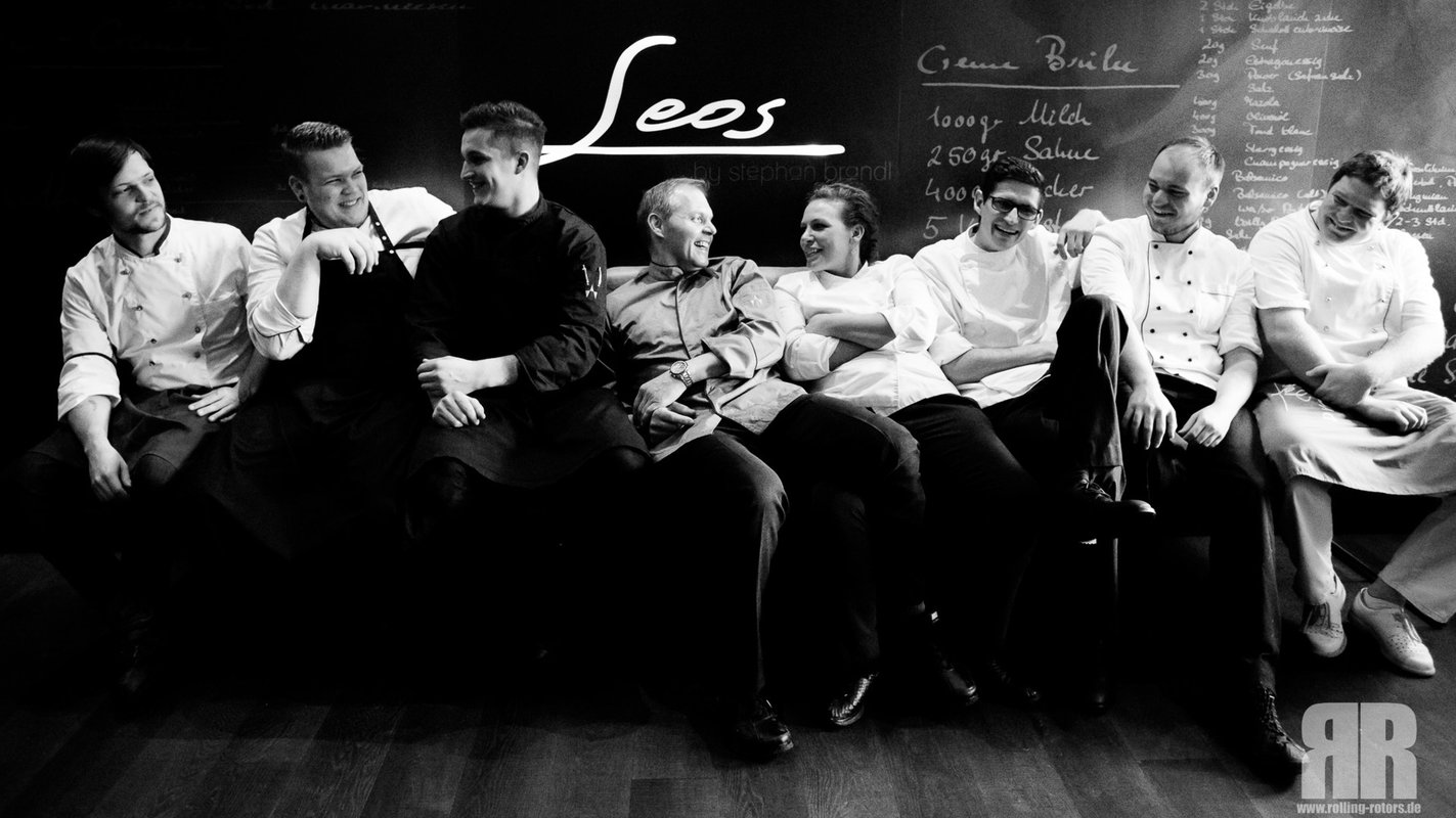 Team-Foto des Gourmetrestaurants Leos